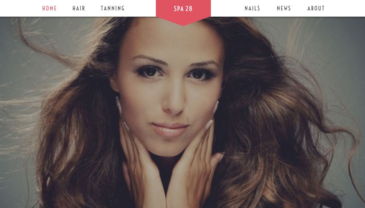 Wordpress Website Design For Beauty Salon in Pittsburgh PA